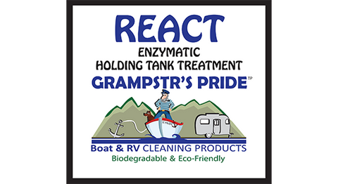 REACT - Enzymatic Cleaner and Holding Tank Treatment - One Gallon