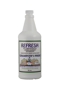 REFRESH - HE Concentrated Liquid Laundry Detergent - 32 oz.