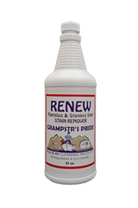 RENEW - Fiberglass & Stainless Steel Stain Remover - Case - 12 Quarts