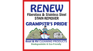 RENEW - Fiberglass & Stainless Steel Stain Remover - Gallon