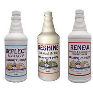 Exterior Boat Cleaning Pack