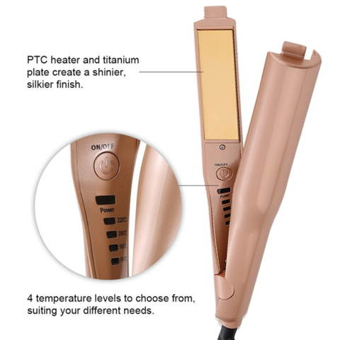 Hair straightener features
