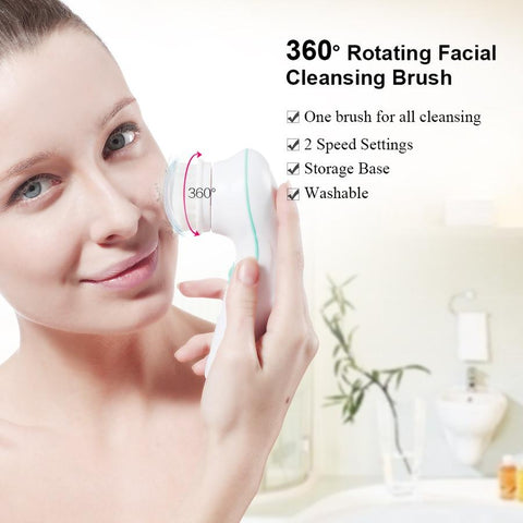 Brush facil cleansing 360 rotating