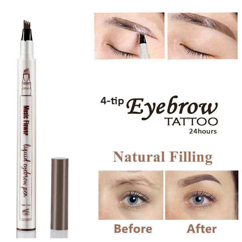 Eyebrow Microblading Waterproof Pencil - My Skin First