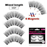 LureLashz™️ - Magnetic Reusable Eyelashes with 4 magnets - My Skin First