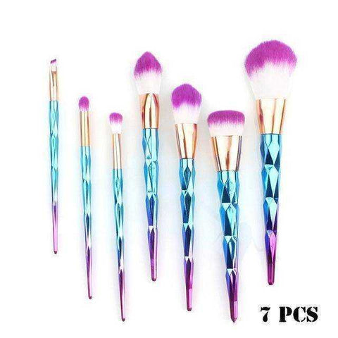 The Diamond Makeup Brushes Kit - My Skin First
