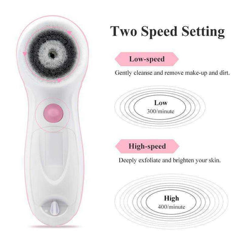 Face & Body Spin Brush