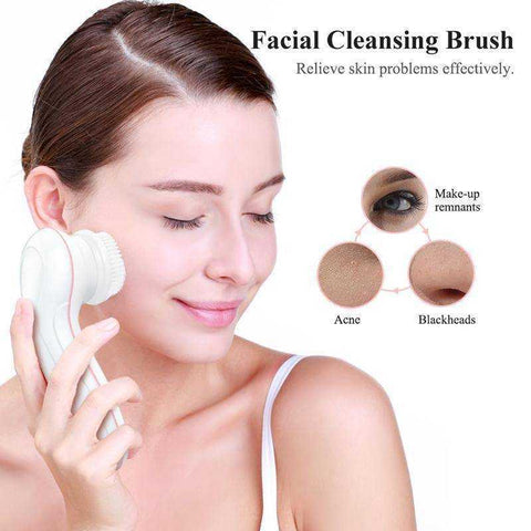 Image of Face & Body Spin Brush - My Skin First