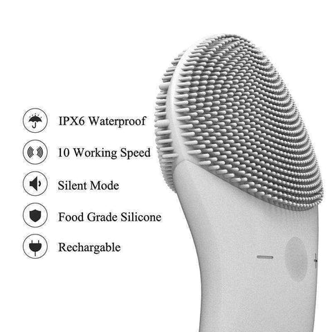 Image of Sonic Silicone Facial Cleansing brush - My Skin First
