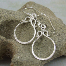 unique earrings in sterling silver