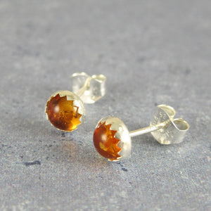 baltic amber sterling silver earrings