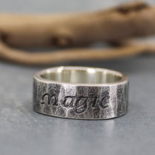 Magic ring in sterling silver