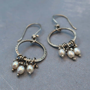 Unique artisan earrings