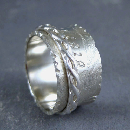 eternity spinner ring