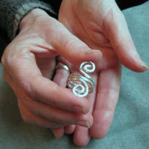 viking spiral ring