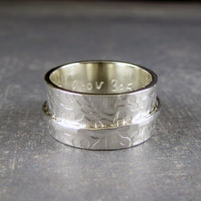 silver ring customizable