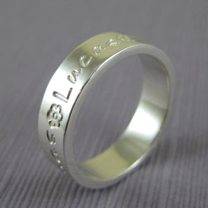 mommy ring with childrens name