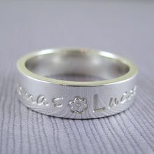 Mothers silver ring