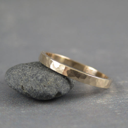 2mm gold ring