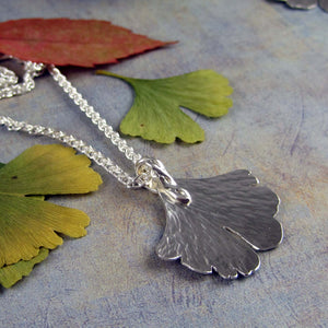 ginkgo leaf jewelry
