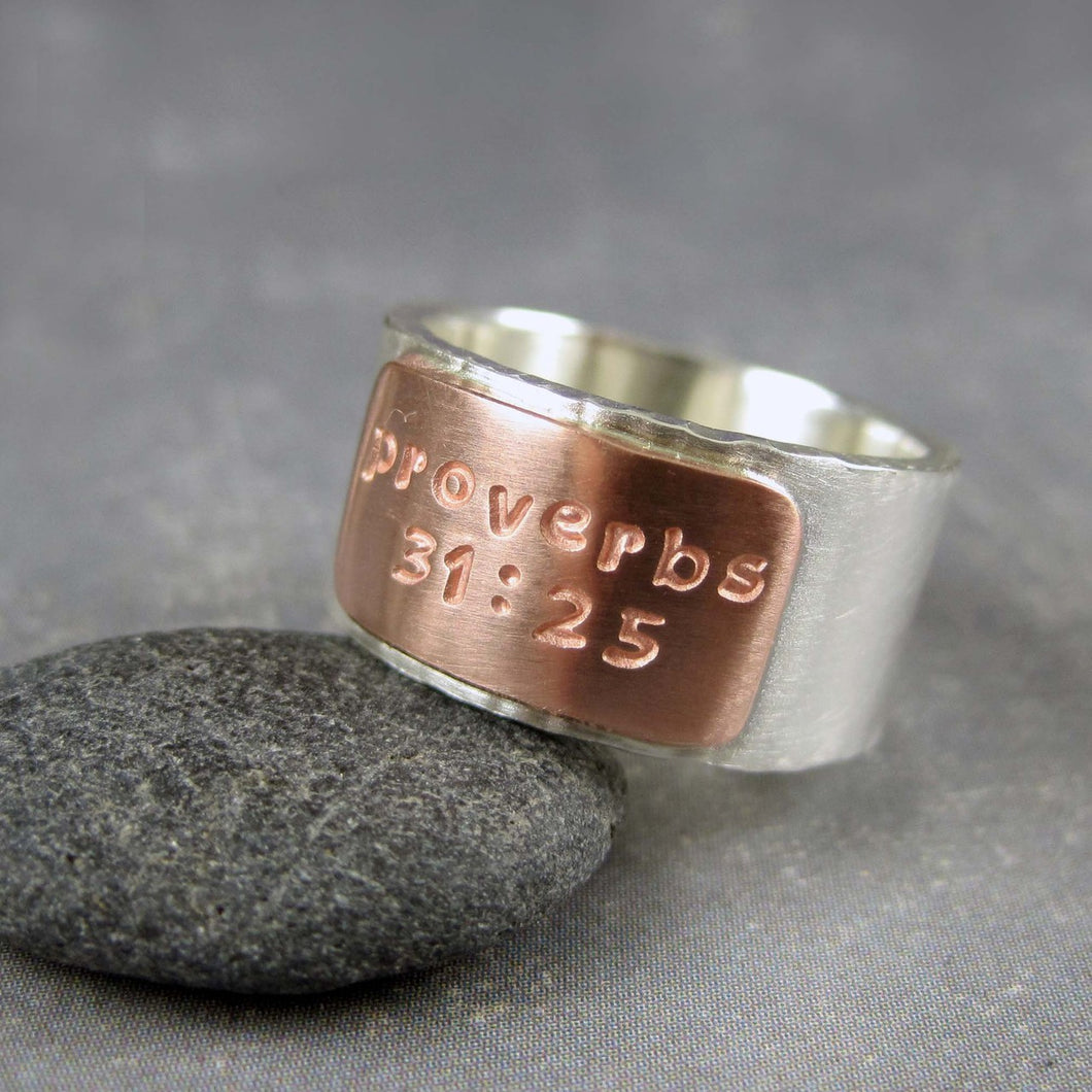 copper tab ring