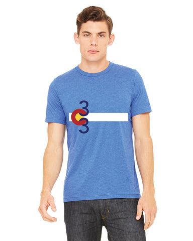 303 tshirt front - forever colorado co.