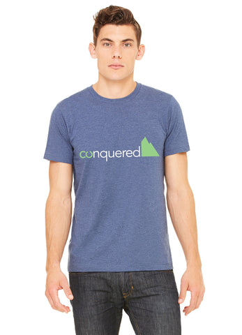 Colorado Fourteeners 14ers Conquered  t-shirt - front - forever colorado co.