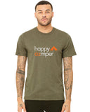 happy camper tshirt front - forever colorado co.