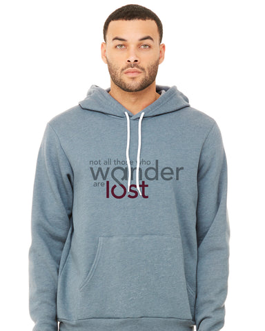 Forever Colorado Co. - not all those who wander are lost hoodie front