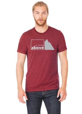 A Mile Above t-shirt front - Forever Colorado Co.