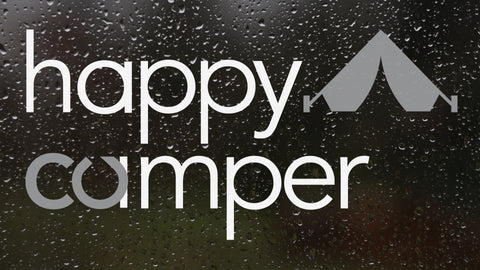happy camper decal - forever colorado co.
