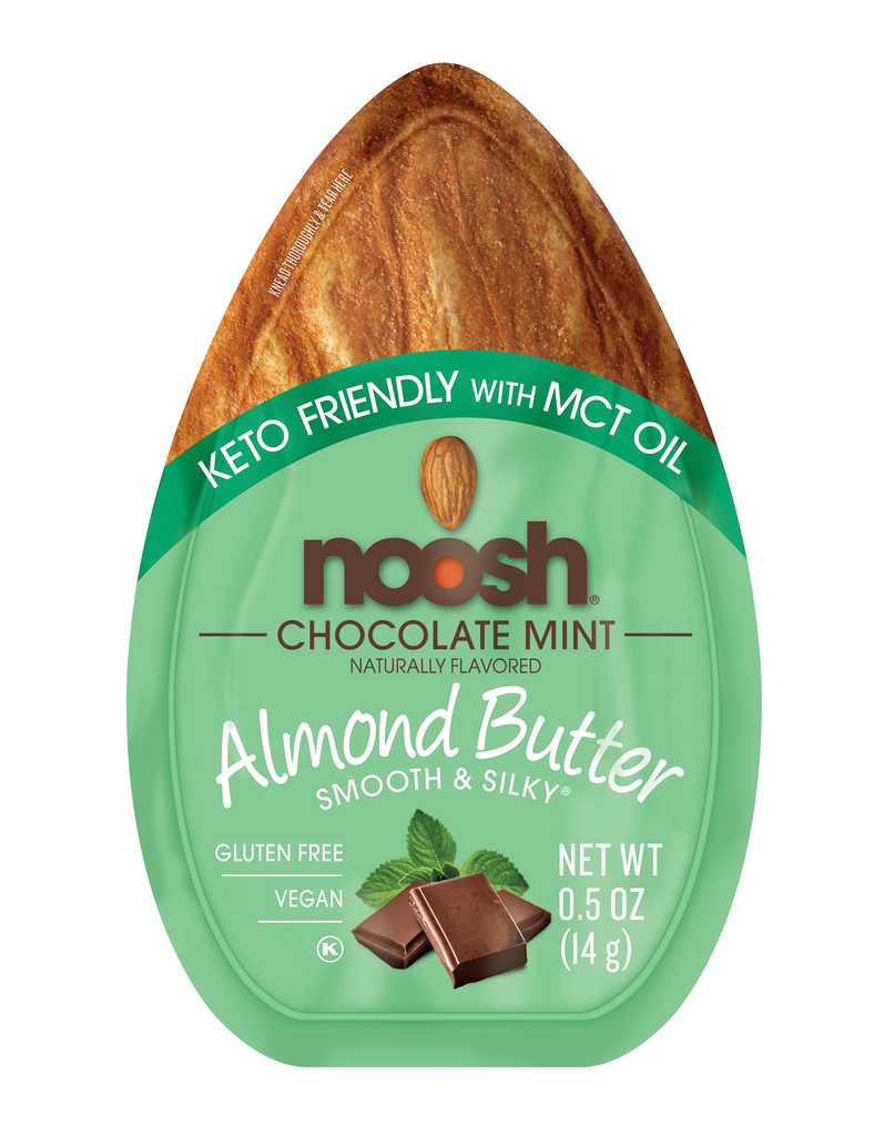 Chocolate Mint Almond Butter - Keto Friendly with added MCT Oil