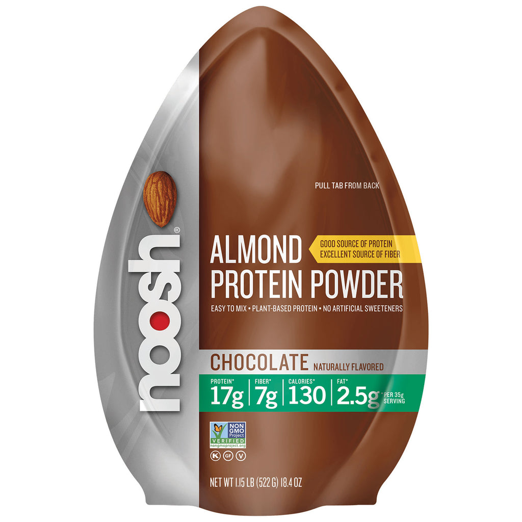 Almond Protein Powder, Chocolate Stand Up Resealable Pouch 1.15lbs