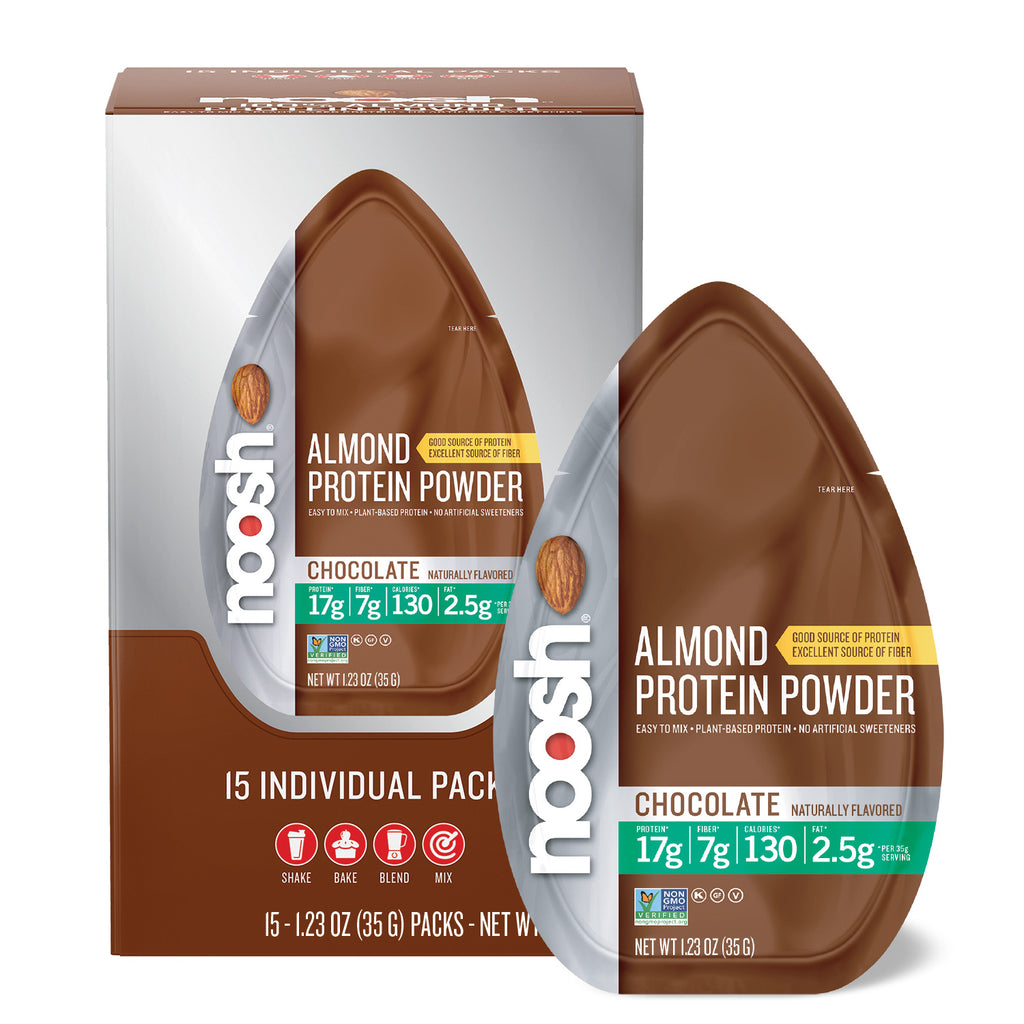 Almond Protein Powder, Chocolate 15 count