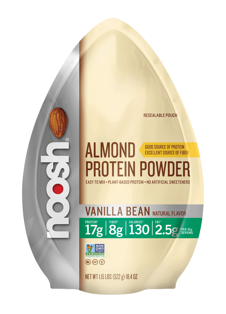 Almond Protein Powder, Vanilla Stand Up Resealable Pouch 1.15lbs