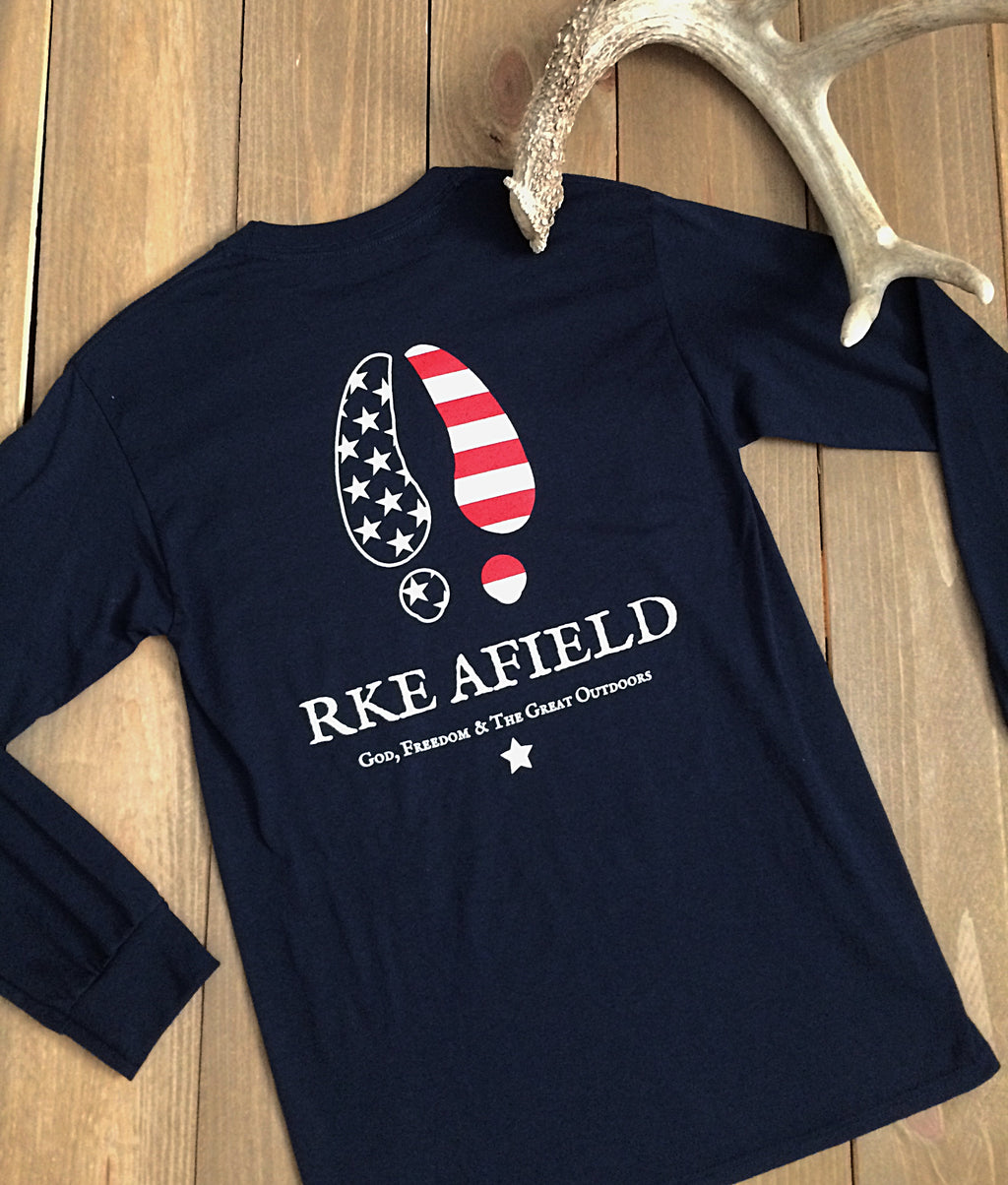 American Whitetail Long Sleeve Tee