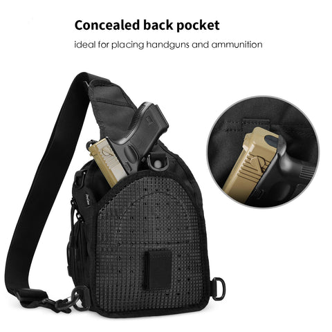 Water-Resistant Tactical Molle Pack