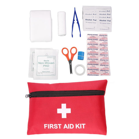 Emergency First Aid Kit - 12 Pieces
