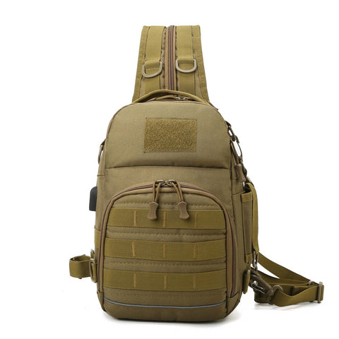 Dual-Sling Tactical Backpack with Switchable Straps