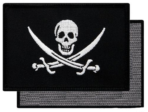 PIRATE FLAG PATCH JOLLY ROGER Patch