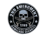 2ND AMENDMENT EMBROIDERED PATCH