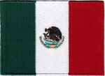 MEXICO NATIONAL FLAG PATCH