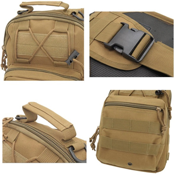 EDC Water-Resistant Tactical Sling Backpack