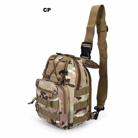 Image of EDC Water-Resistant Tactical Sling Backpack