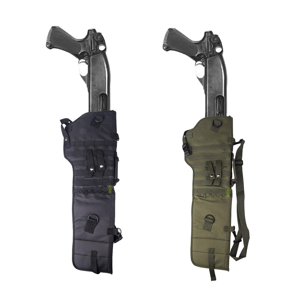Tactical Shotgun Rifle Scabbard Molle Shoulder Sling