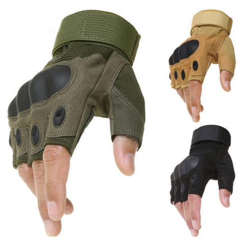Tactical Hard Knuckle Gloves