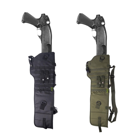 Image of Tactical Shotgun Rifle Scabbard Molle Shoulder Sling