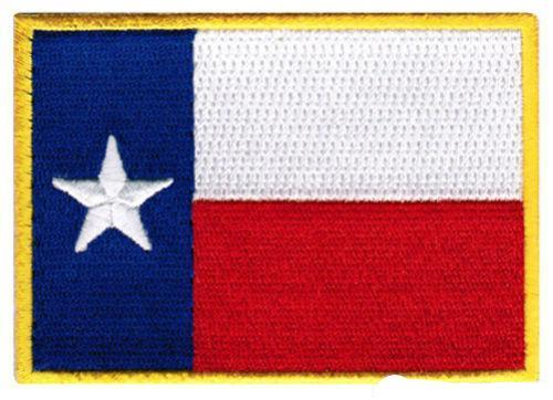 TEXAS FLAG EMBROIDERED PATCH