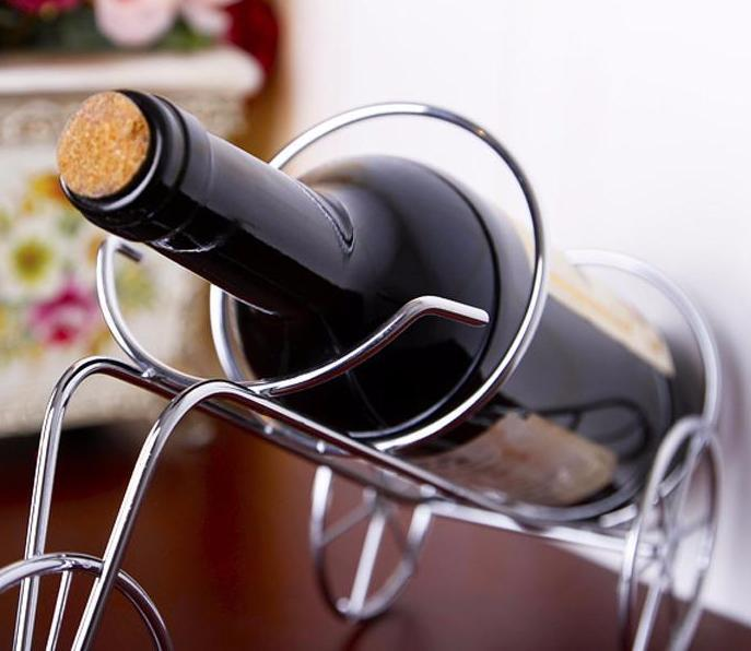 High Quality Resin Bar Wine Rack