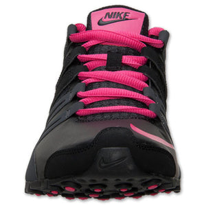check out 5f350 8c014 Nike Shox Current Black Anthracite Pink Grey Womens Running Shoes 5.5 US